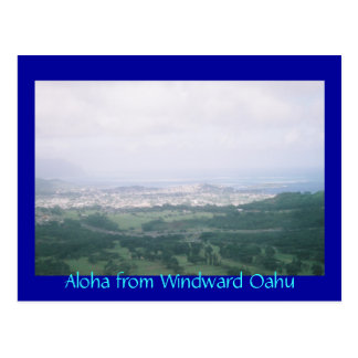 Aloha from Windward Oahu Postcard