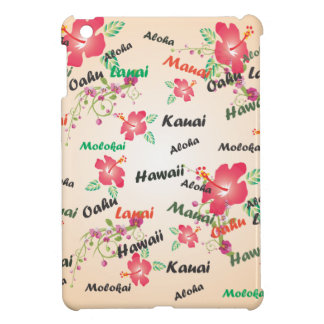 aloha, kauai, hawaii, oahu, maui, lanai background cover for the iPad mini