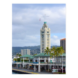 Aloha Tower, Honolulu, Hawaii Postcard