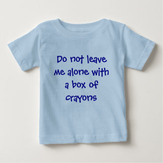 Alone with crayons t-shirts