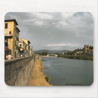 Along the Arno Mouse Pad