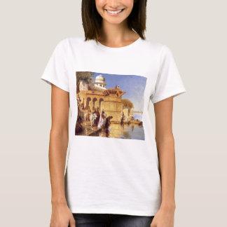Along the Ghats, Mathura by Edwin Lord Weeks T-Shirt