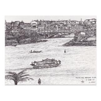 Along the Perfume River Postcard