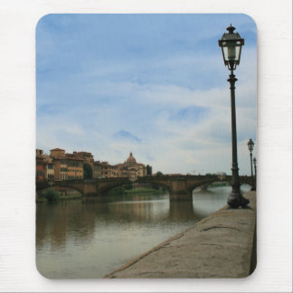 Along the River Arno Mouse Pad