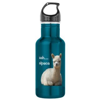 Alpaca 18oz Water Bottle
