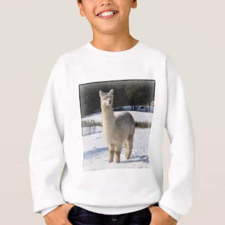 Alpaca In the Snow T Shirt
