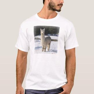 Alpaca In the Snow T-Shirt