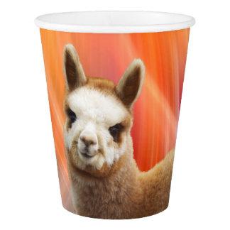 Alpaca Party Paper Cups