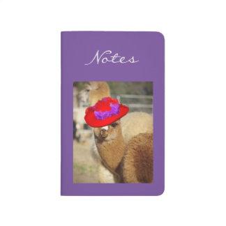 Alpaca Pocket Journal
