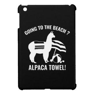 Alpaca Towel iPad Mini Cover