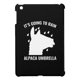 Alpaca Umbrella Cover For The iPad Mini