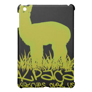 Alpaca watches over us case for the iPad mini