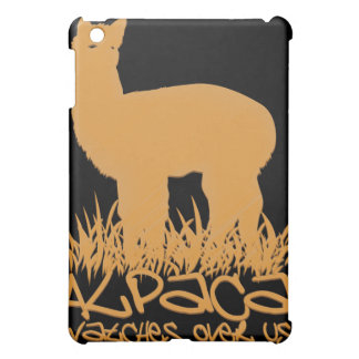 Alpaca watches over us cover for the iPad mini