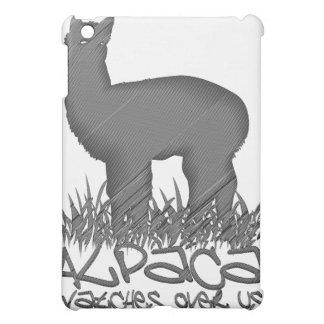 Alpaca watches over us iPad mini cases