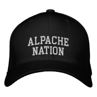 Alpache Nation Embroidered Hat