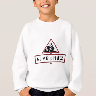 Alpe D'huez Road Sign Sweatshirt