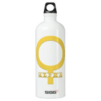 Alpha Female Gold SIGG Traveller 1.0L Water Bottle