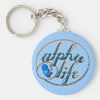 Alpha Life Key Chain - Basic