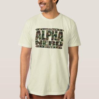 ALPHA NERD - Army of Intellectual Warriors, Camo Tshirts