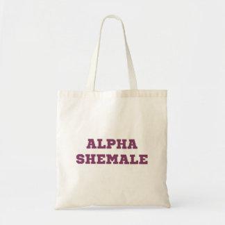 Alpha Shemale Tote Bag