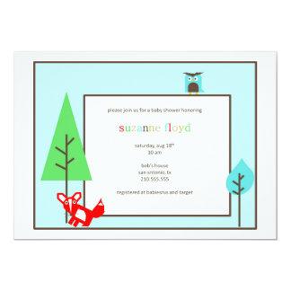 Alphabet Zoo Baby Shower Personalized Invites