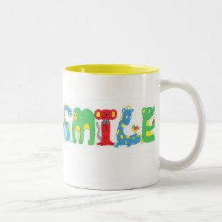 Alphapets SMILE mug