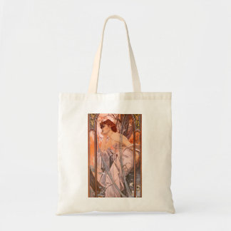 Alphonse Mucha Evening Reverie Budget Tote Bag