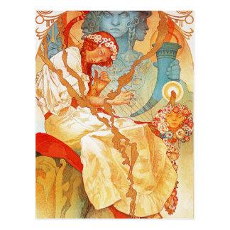 Alphonse Mucha The Slav Epic postcard
