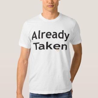 already taken tee shirt