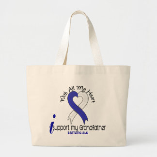 ALS I Support My Grandfather Tote Bag