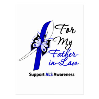 ALS Support For My Father-in-Law Postcards