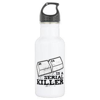 Alt F4 Is A Serial Killer 532 Ml Water Bottle