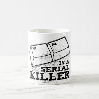 Alt F4 Is A Serial Killer Basic White Mug