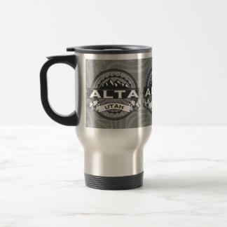 Alta Silver Stainless Steel Travel Mug