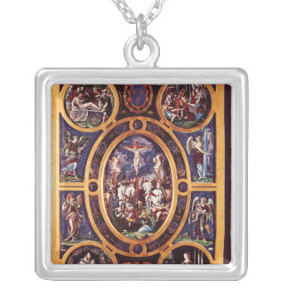 Altarpiece of Sainte-Chapelle Silver Plated Necklace