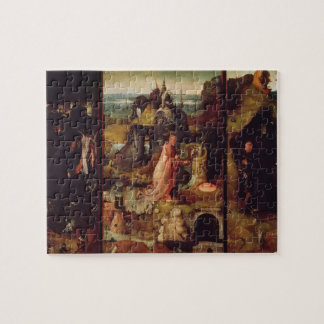 Altarpiece of the Hermits (oil on panel) Puzzles