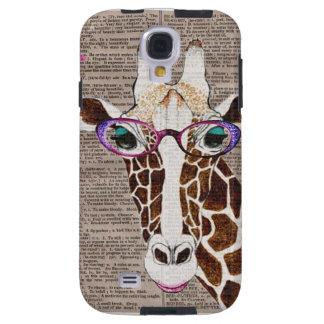 Altered Art Funky Giraffe Phone Case Galaxy S4 Case