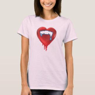 Alternative Gothic Emo Valentines T-Shirt Dripping