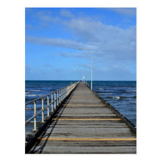 Altona beach pier seaside Melboune Postcard