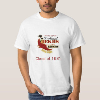 Alumni Reunion 2013 Class of 1981 T-Shirt