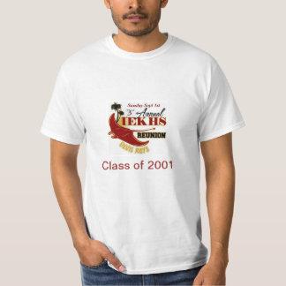 Alumni Reunion 2013 Class of 2001 T Shirt