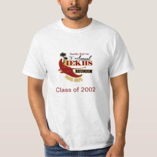 Alumni Reunion 2013 Class of 2002 T Shirt
