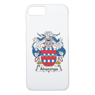 Alvarenga Family Crest iPhone 8/7 Case