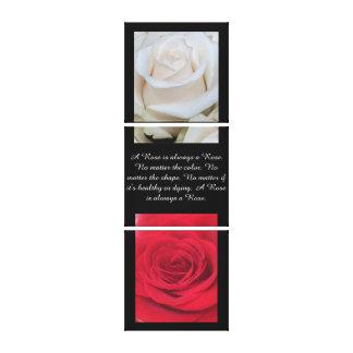 Always a Rose - Triple Set Canvas Print