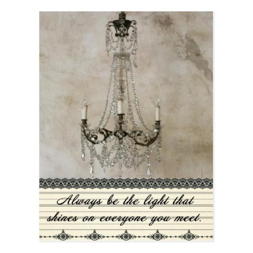 Always be the Light Post Card