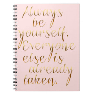 Always be yourself Journal