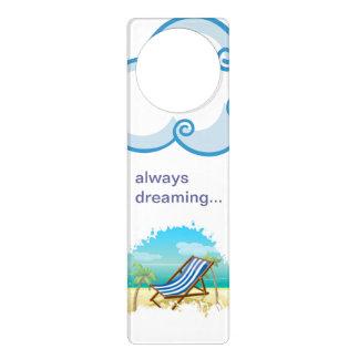 """""""Always Dreaming"""" Beach Door Hanger"""