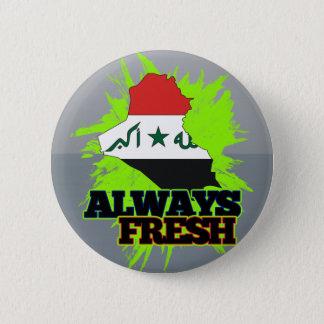Always Fresh Iraq 6 Cm Round Badge