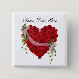 Always in My Heart 15 Cm Square Badge