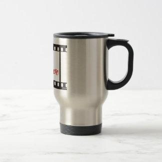 Always positive never negative stainless steel travel mug